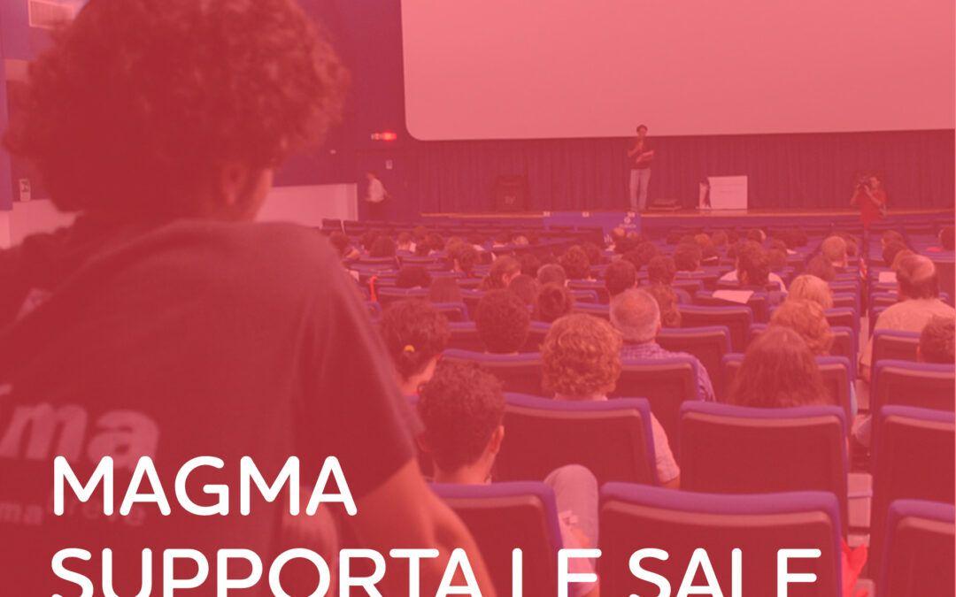 Magma sostiene le sale cinematografiche